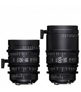 Sigma WDQ968 - 18-35mm + 50-100mm T2,0 Kit (PL) Luminous