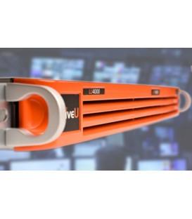 LiveU LU10-SV-1UL01-4K - LU4000 - 1U Rack Mount 4K HEVC Decoder Server