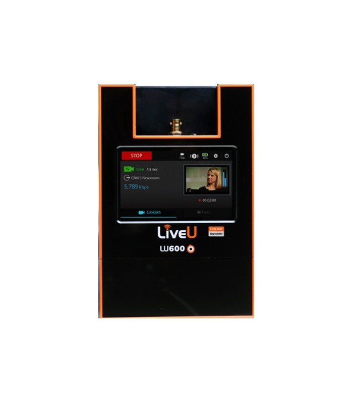 LiveU LU600-DVB-HEVC-HD - LU600 with HEVC-HD Video Card - VISUALS e-shop