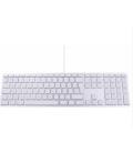 LMP KB-DE-10 - USB Keyboard KB-1243 with Numeric Keypad, 10 Pack