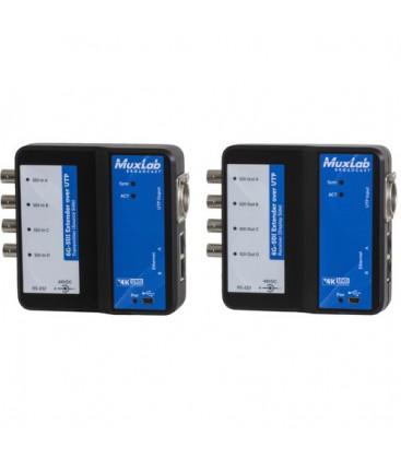 MuxLab 500733 - 6G-SDI Extender over UTP with Ethernet