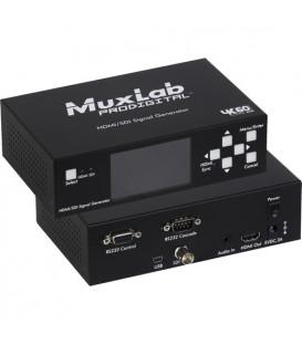 MuxLab 500830 - HDMI 2.0/3G-SDI Signal Generator