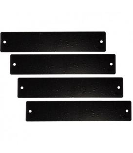 MuxLab 500921 - Black Filler Plates (4) for 500920