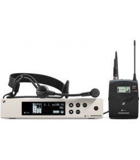 Sennheiser EW100-G4-ME3-B - Wireless Bodypack System with ME 3-II Headset Mic