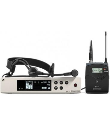 Sennheiser EW100-G4-ME3-B - Wireless Bodypack System with ME 3-II Headset Mic