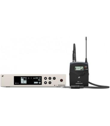 Sennheiser EW100-G4-CI1-B - Wireless Instrument System with Ci 1 Guitar Cable
