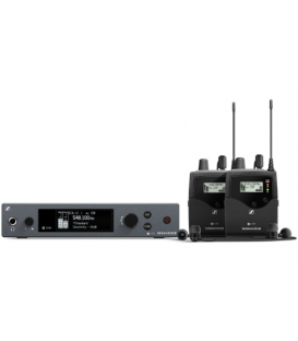 Sennheiser EW-IEM-G4-TWIN-B - Wireless Monitor System Kit