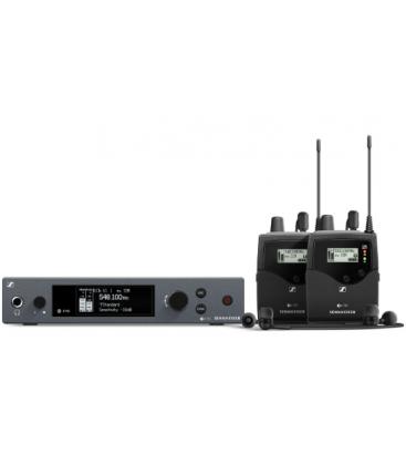 Sennheiser EW-IEM-G4-TWIN-B - Wireless Monitor System Kit