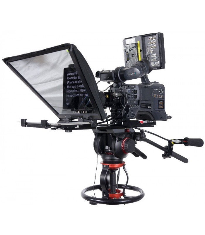 datavideo 2400 5030 tp 650 large screen prompter for eng camera