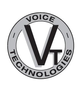 Voice Technologies VT860MKII/B - Microphones headband + headset, black