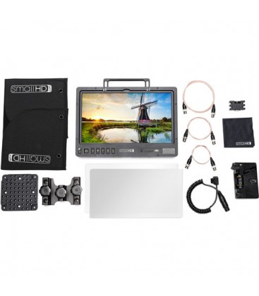 "SmallHD SHD-MON-1303HDR-GM-KIT - 1303"" HDR Production Monitor Kit - Gold Mount"