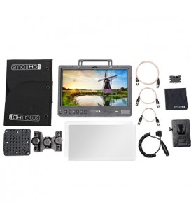 "SmallHD SHD-MON1303HDR-VMKIT - 1303"" HDR Production Monitor Kit - V Mount"