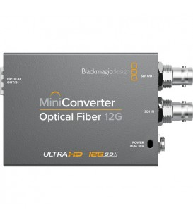 Blackmagic BM-CONVMOF12G - Mini Converter Optical Fiber 12G