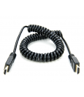 Atomos ATOMCAB011 - 1 X Coiled Full HDMI to Full HDMI Cable (50cm)