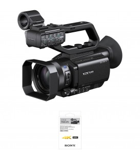 Sony PXW-X70/4K - HD Professional Palm Camcorder With 4K Upgrade CBKZ-XZ0F