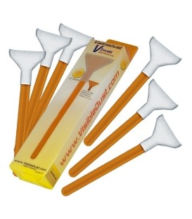 Cineboutique A-VDSPAT24 - VISIBLE DUST - 12 Sensor Cleaning Swab - 1.0x - 20mm - ORANGE