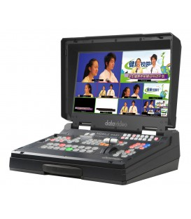 Datavideo 2200-2016 - HS-1300 - 6 Inp HD videomx in case with streaming