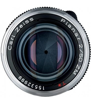 Zeiss 1365-661 - Planar T* 2/50, black, 43 mm