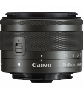 Canon 0572C005 - EF-M15-45mm f3.5-6.3 IS STM, Black