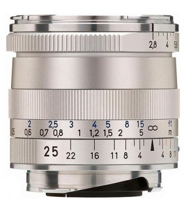 Zeiss 1365-652 - Biogon T* 2,8/25, silver, 46 mm