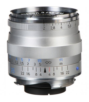 Zeiss 1365-658 - Biogon T* 2/35, silver, 43 mm