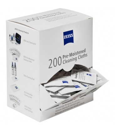 Zeiss 2203-468 - Pre-moistened cleaning cloths - Box