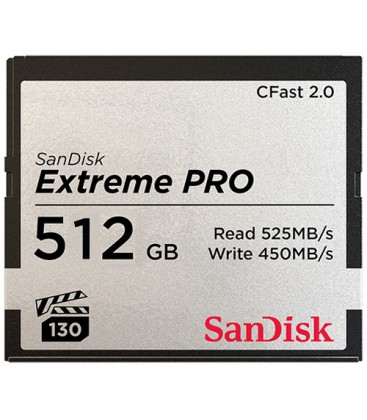 Sandisk SDCFSP-512G-G46D - CFast ExtremePro 525MB/s 512GB