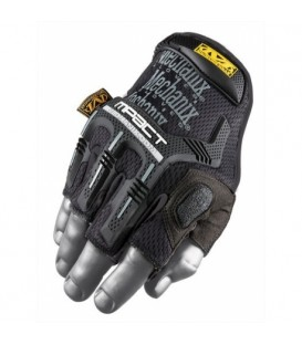 Cineboutique A-MWFINGERLESSM - MECHANIX WEAR - M-PACT FINGERLESS - black - TAILLE M
