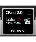 Sony CAT-G128 - Cfast 2.0 Card, 128GB