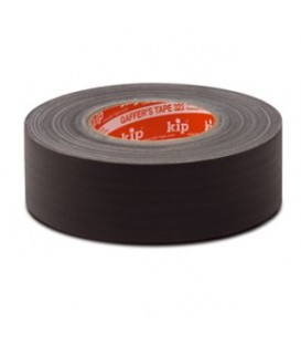 KIP 323-85 - Gaffer`s tape Black 50mm x 50m