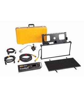 Kinoflo KIT-F21TU - FreeStyle/GT 21 LED DMX Kit, Univ w/ Travel Case