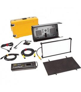 Kinoflo KIT-F21U - FreeStyle 21 LED DMX Kit, Univ w/ Flight Case