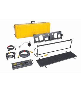 Kinoflo KIT-F31TU - FreeStyle/GT 31 LED DMX Kit, Univ w/ Travel Case