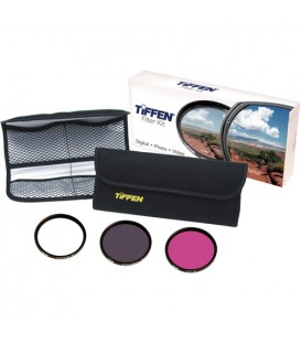 Tiffen 37DFK3 - 37MM DELUXE 3 FILTER KIT