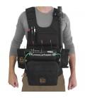 Portabrace ATV-F4 - Audio Tactical Vest, Black