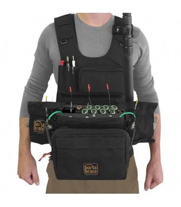 Portabrace ATV-MIXPRE10T - Audio Tactical Vest - Custom-fit