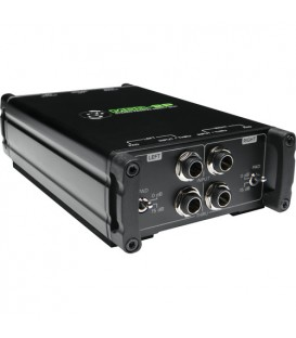 Mackie MDB-2P - Stereo Passive Direct Box