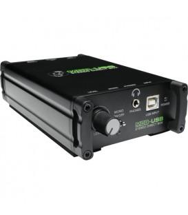 Mackie MDB-USB - Stereo Direct Box, USB