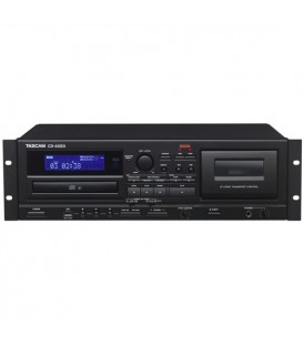 Tascam CD-A580 - CD Player/Tape Deck/USB Recorder, 3U
