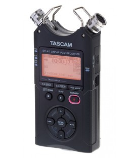 Tascam DR-40V2 - High quality 4 Track Handheld Recorder