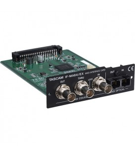 Tascam IF-MA64EX - MADI Interface Card for DA-6400, BNC/Optical