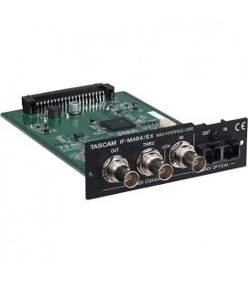 Tascam IF-MA64EX - MADI Interface Card for DA-6400, BNC/Optical