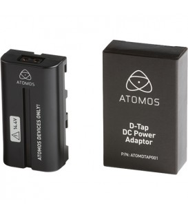 Atomos ATOMDTP001 - Spare Dtap Dummy battery with 2 Dtap leads Spare
