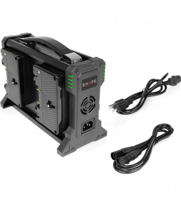 Shape G4CHA - Intelligent 4-Channel Gold-Mount Lithium-Ion Battery Charger