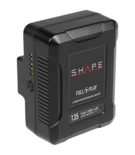 Shape V135TS - Rechargeable Lithium-Ion V-Mount Battery