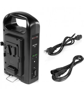 Shape V2PWC - Intelligent Dual V-Mount Lithium-Ion Battery Charger