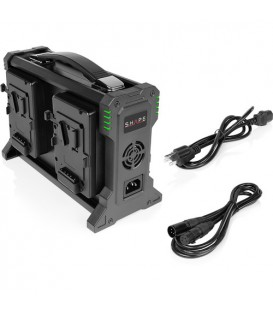 Shape V4CHA - Intelligent 4-Channel V-Mount Lithium-Ion Battery Charger