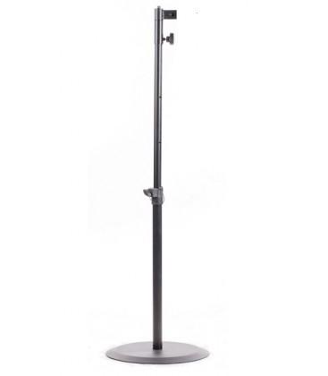 Fohhn FreeStand X - Aluminium stand column, 125 cm, black
