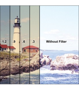 Tiffen W56585N3 - 5.65X5.65 WTR/WHT 85N3 Filter