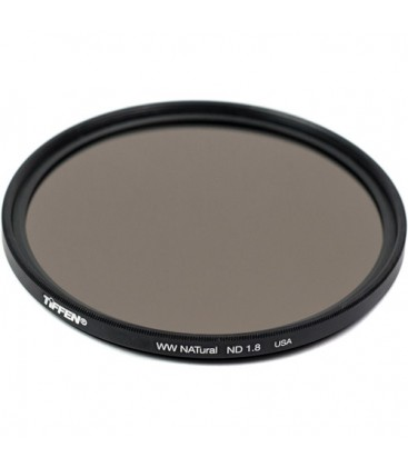 Tiffen W62NATND18 - 62mm NATural Neutral Densitiy 1.8 filter